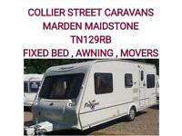 2004 Bailey Pageant vendee + AWNING + MOVERS+WARRANTY