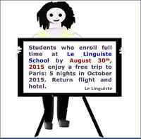 Free trip to Paris, France in October 2015!