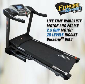 #New Electric Treadmill PRO SUSPENSION /2.5CHP EverDrive™ Motor Condell Park Bankstown Area Preview