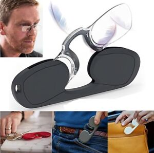 NOSE Clip Reading Glasses...AS SEEN AT AMAZON...