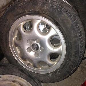Mag avec pneu d'hiver