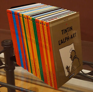 TINTIN collection complète - 24 mini albums