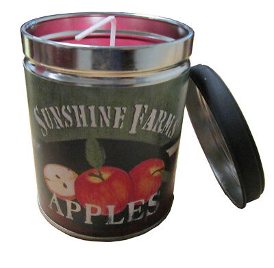 - Macintosh Apple Scented 13oz Tin Candle w/ Apple Label by Our Own Candle Company