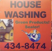 House washing!! Green products !