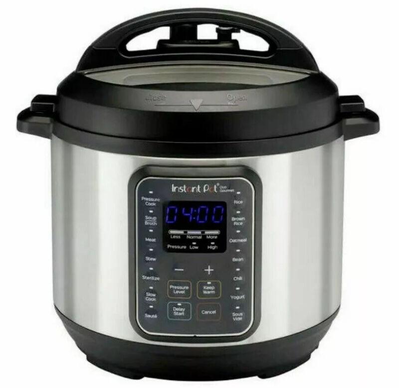 Instant Pot Duo Gourmet 60 6 Quart Multi-Use 9 in 1 Pressure Cooker - Used