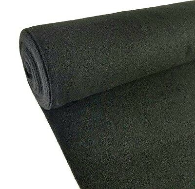 Carpeted Box - 5 Yards Black Upholstery Durable Un-Backed Automotive Trim Carpet 40