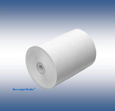 3 X 190 Bond Kitchen Printer Registerreceipt Tape Paper 50 Rollscs