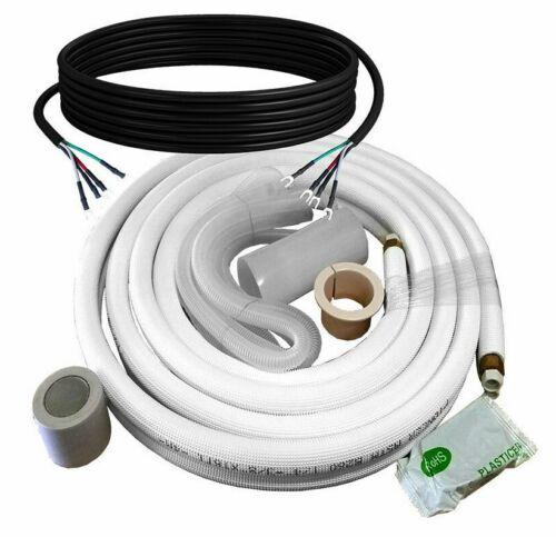 Install Kit for Mini Split Heat Pump Systems. 1/4 - 1/2 Dia. Five Length Options