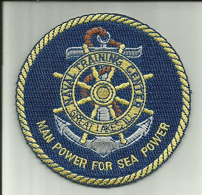 NAVAL TRAINING CENTER GREAT LAKES ILL,U.S.NAVY PATCH SAILOR SOLDIER WARSHIP USA