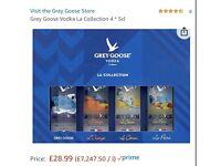 Grey goose *4 set