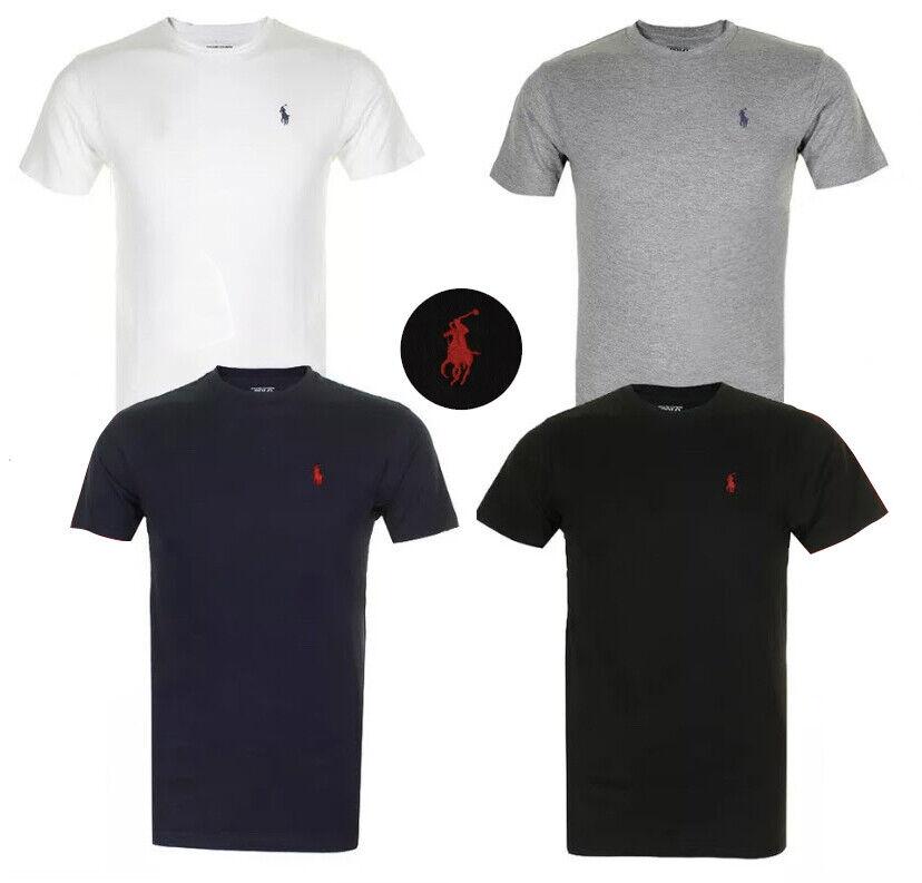 Polo Ralph Lauren Men's T Shirt Crew Neck Slim Fit Short Sle