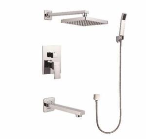 NEUF EN BOÎTE - Système de douche et bain fini chromé, Elegance