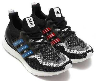 adidas Ultraboost City New York - Carbon Black - Sizes 6-12UK FV2587