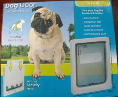 DOG DOOR FOR SMALL BREED DOGS *NEW* Willetton Canning Area Preview