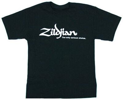 Zildjian Cymbals Classic Black Tee T-Shirt - All Sizes!