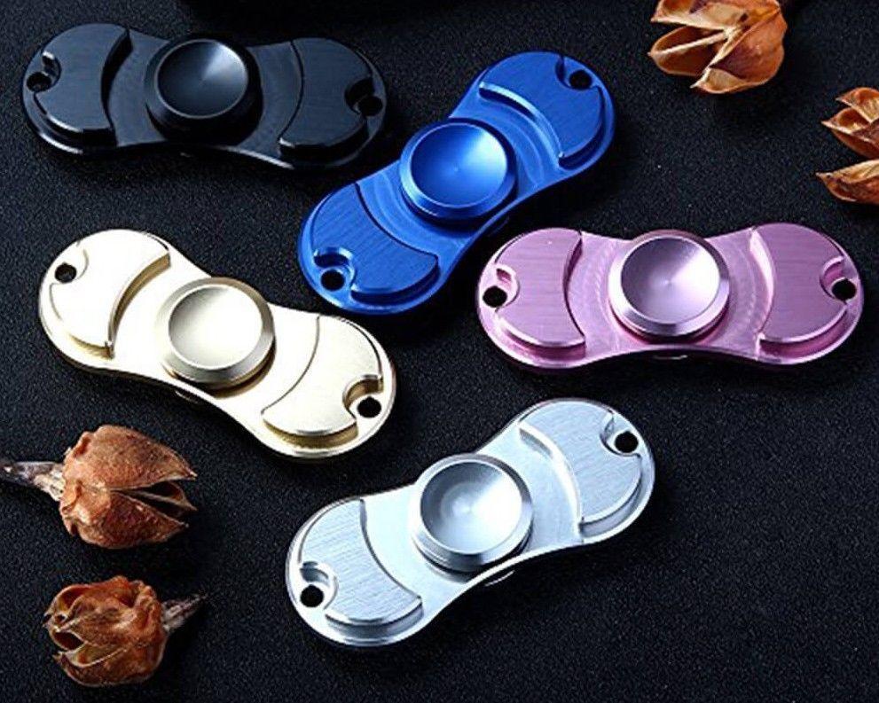 Fidget Dito Mano Spinner FOCUS SPIN ceramica//acciaio EDC CUSCINETTO Stress Giocattolo
