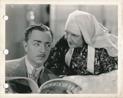 WILLIAM POWELL Original Vintage 1936 RECKLESS MGM DBW Portrait Photo HARLOW