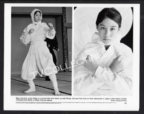8x10 Photo~ 3 NINJAS KICK BACK ~1994 ~Caroline Junko King