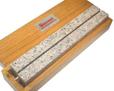 Starrett Precison G-81696 12 X 1 X 2 4-face Granite Parallel Set