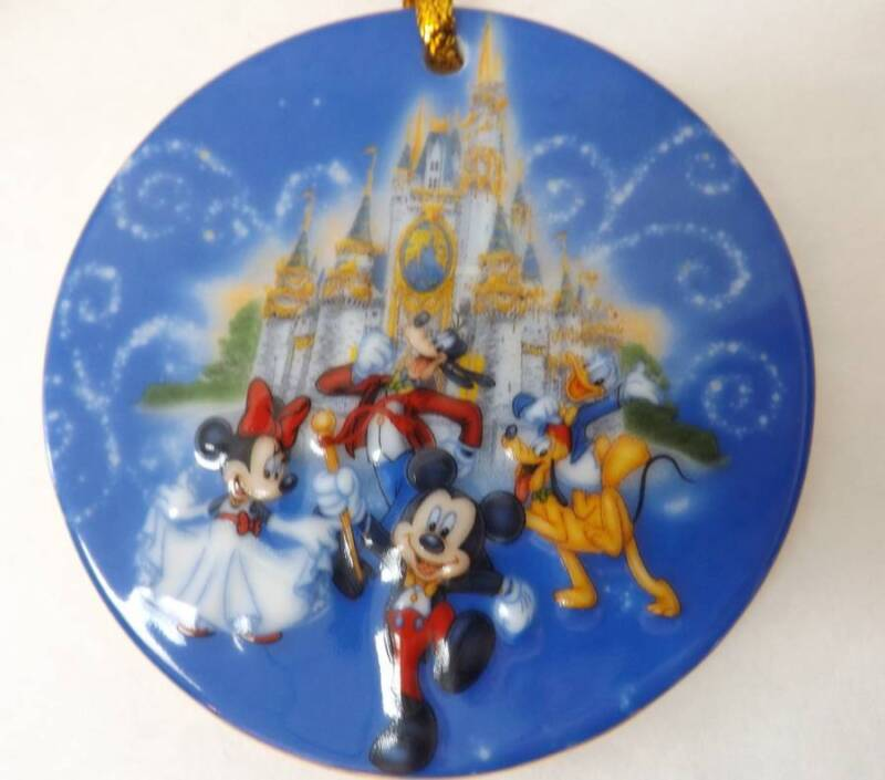 Disney The Happiest Celebration On Earth Disney Parks 3 Inch Christmas Ornament