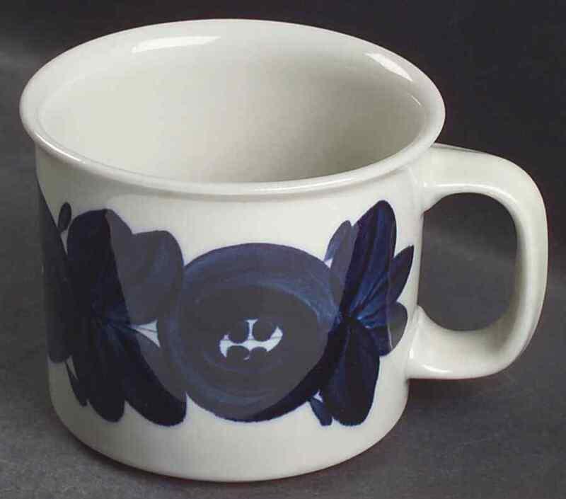 Arabia Of Finland ANEMONE BLUE Beer Mug 4655155