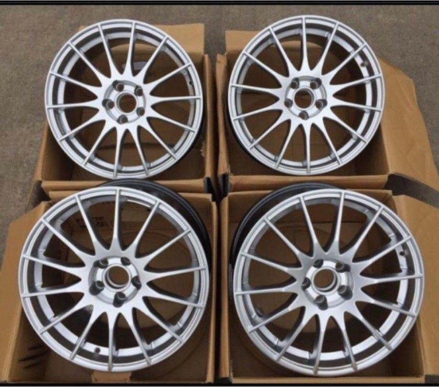 16 Set Brand New Fox Alloy Wheels Pcd 5x115 Astra Zafira In East