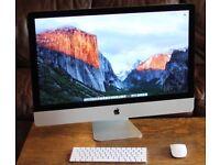 Apple iMac 27-inch Late 2013 i7 Intel Core 16GB Desktop PC - Excellent Condition