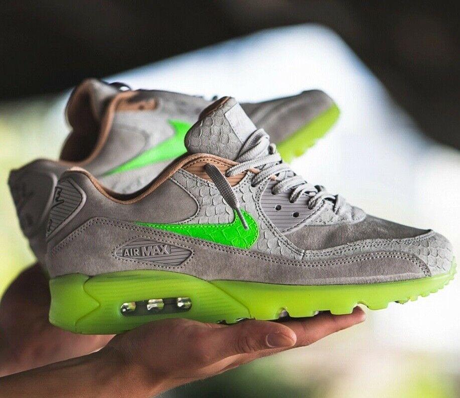 Nike Air Max 90 PRM nuove scale Platinum Bio Species Verde UK 7 11 EUR 41 46