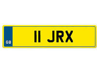 Private Registration Plate **11 JRX** Jamie, John, Jim, Jack, Josh, Jay, Joel