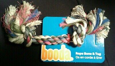 Booda Multi Color 2 Knot Rope& Tug Bone Dog Toy
