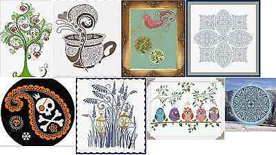 Alessandra Adelaide Needleworks  COUNTED CROSS STITCH PATTERNS - Your Choice! - Halloween Adelaide