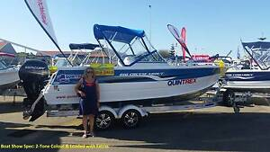 2015 QUINTREX 610 Cruiseabout Salter Point South Perth Area Preview