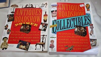 Lot of 2 Antiques Roadshow Primer and 20th Century Collectibles PBS TV series