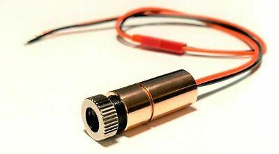7-watt Nubm44 Laser Diode In 12mm Copper Module W 3-e Lens - 22awg-jst - 450nm