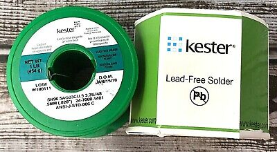 """1.5/"""" Pack No Lead 0.031 Diameter KESTER SOLDER 83-7068-1402 Solder Pocket"""