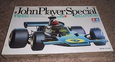 Vintage TAMIYA  1/12 Big Scale  John Player Special Lotus 72D Model Kit Sealed!