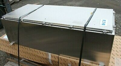 Hubbel Wiegmann S5040270 Stainless Steel Enclosure 58 X 24 X 17