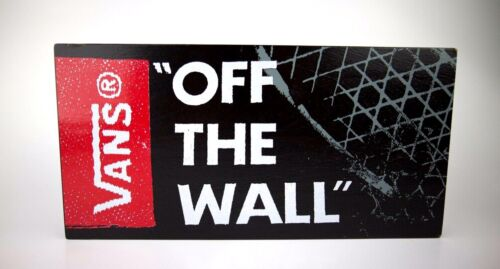 """Vans """"Off The Wall""""  Sign"""