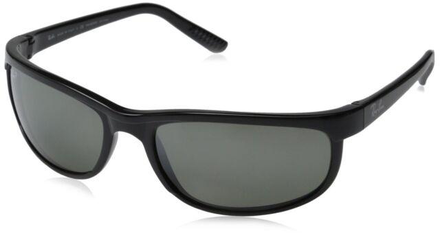 9d40f25d7e Ray-Ban RB2027 601 W1 Black Frame Polarized Grey Mirror 62mm Lens Sunglasses
