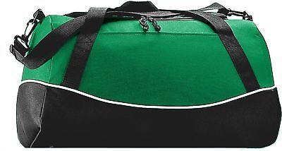 Augusta Sportswear Shoulder Strap Tri Color Zipper Sport Bag. 1910
