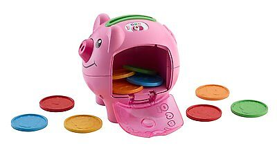 Fisher-Price Laugh and Learn Smart Stages Piggy Bank , New, Free Shipping