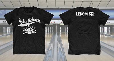 Urban Achievers The Big Lebowski T-shirt inspired Bowling Team Tee Custom gear - Custom Team Gear