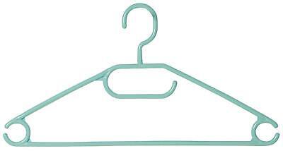 10er Pack Kleiderbügel aus Kunststoff mint grün Breite 40cm Kesper