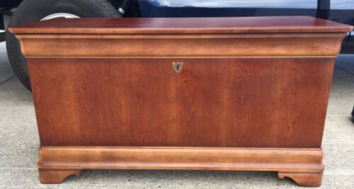Cedar chest trunk by National Mount Airy Cherry