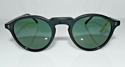 New Authentic illesteva Black Small Capri Col.4 47-23-145 Sunglasses