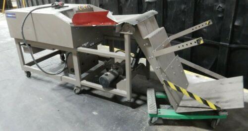 2010 Allegheny Model 16-1500 10 HP Paper Shredder with Hydraulic Tipper