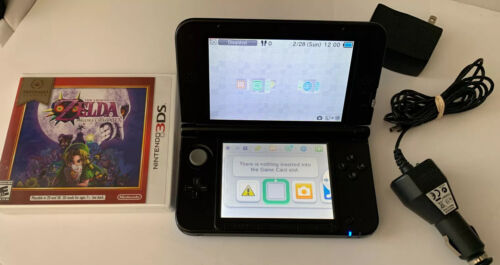 Nintendo 3DS XL Blue with ( The legend Zelda majoras mask ) same day shipping