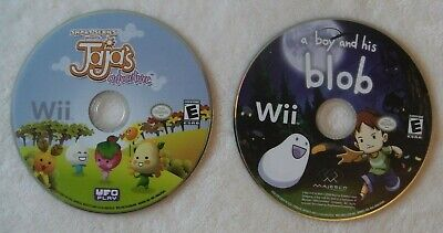 A Boy and his Blob / Smart Series Jaya's Adventure (DISKS ONLY, Nintendo Wii)