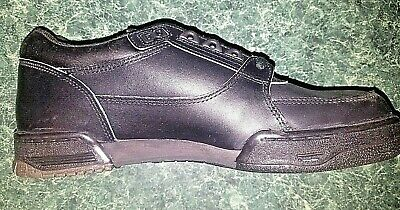 Iron Age Class 1 Steel Toe Black Leather Work Dress Safety Shoe Size: 9.5 NEW!