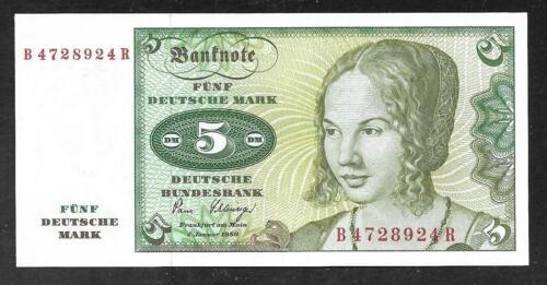 West Germany - 5 Deutsche Mark - 1980 - P30 - Uncirculated